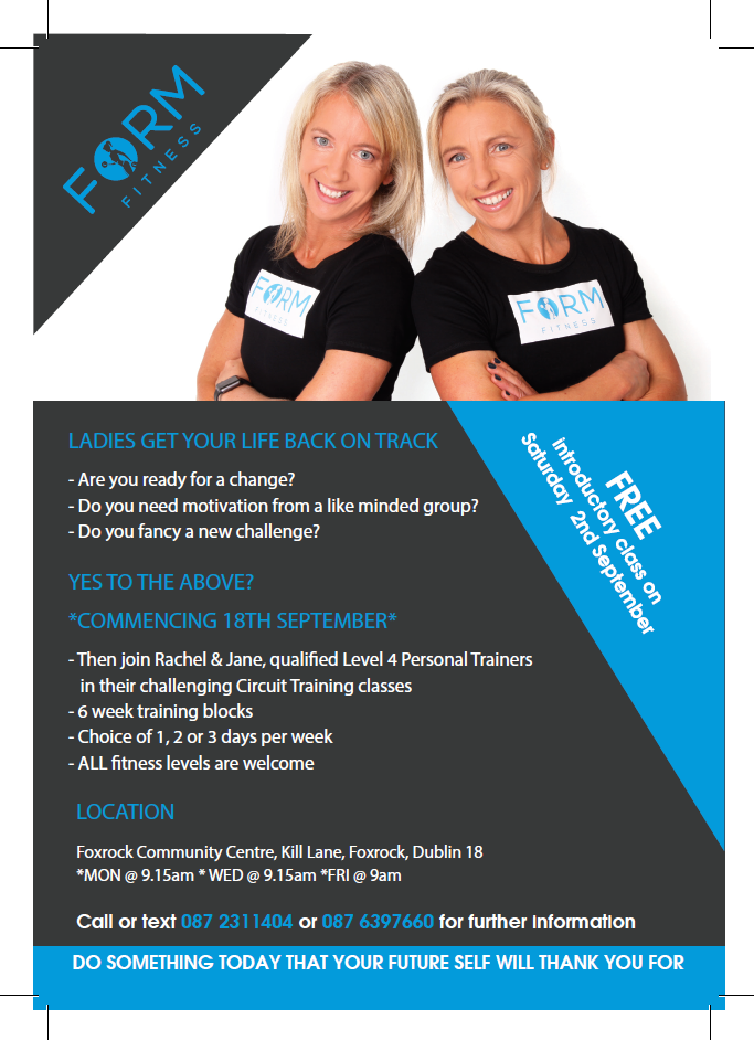 Form Fitness Flyer